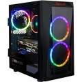 CybertronPC - CLX SET Gaming Desktop - AMD Ryzen 7-Series - 2700 - 16GB Memory - NVIDIA GeForce RTX 2060 SUPER - 1TB HDD + 240GB SSD - Black/RGB