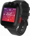 Medical Guardian - Freedom Guardian Medical Alert Smartwatch AT&T - Black with Black Band