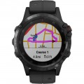 Garmin - fēnix 5 Plus Sapphire Smart Watch - Fiber-Reinforced Polymer - Black